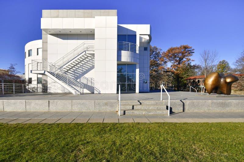 Des Moines Art Center Iowa, de V.S. royalty-vrije stock afbeelding