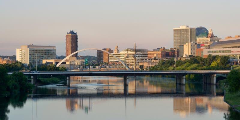 Des Moines Cityscapd fotografia stock libera da diritti