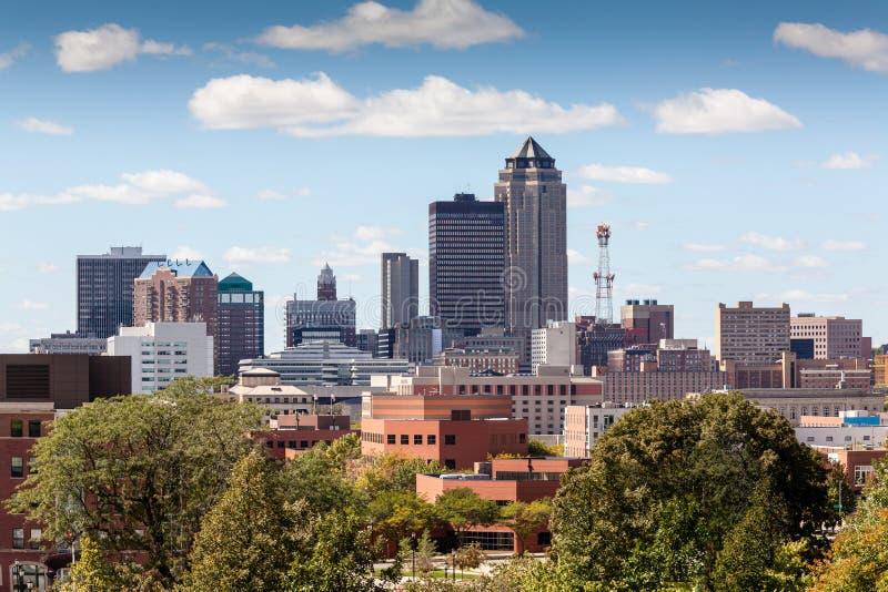 Des Moines, Iowa lizenzfreie stockfotos