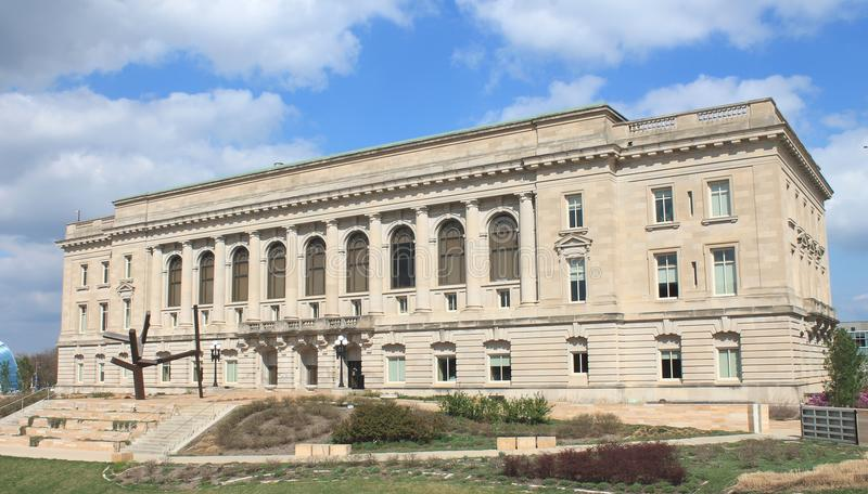 Des Moines Iowa City Hall photos stock