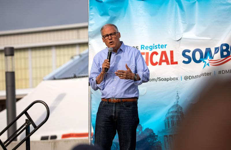 Jay Inslee royalty free stock photography