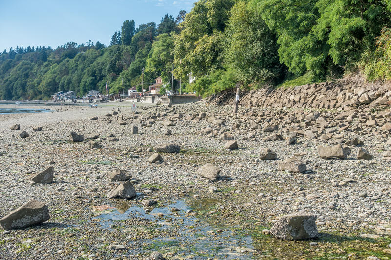 Des Moines Low Tide 3 royalty free stock photos