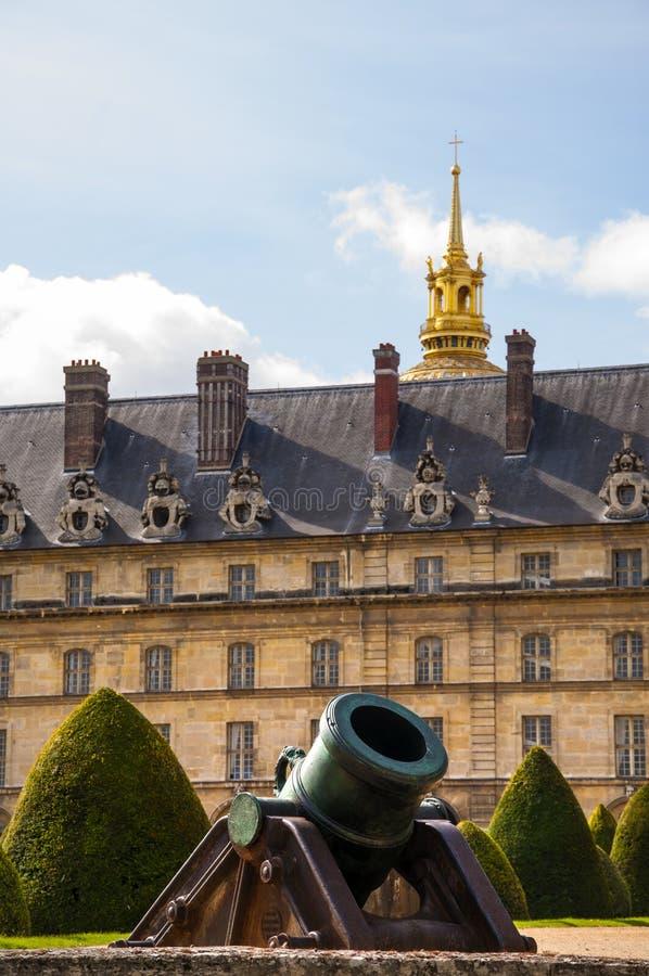 DES nacional Invalides del hotel en París fotos de archivo libres de regalías