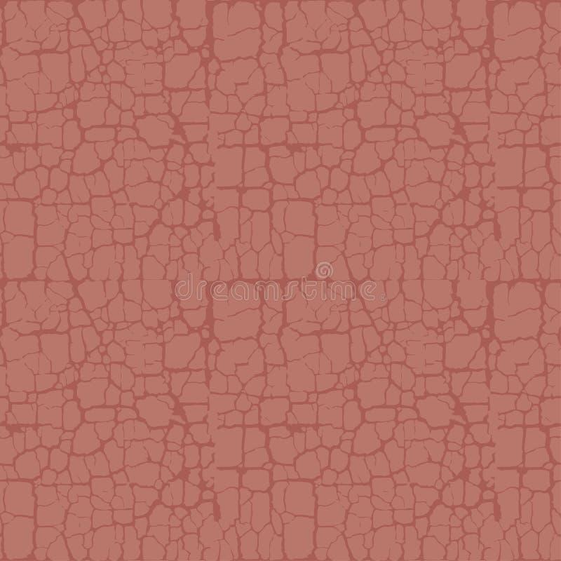 Des nat?rlichen abstrakten nahtloses Muster Boden-Gestells der Terrakotta stock abbildung