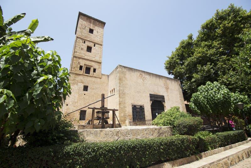 DES Oudayas de musée à Rabat photographie stock