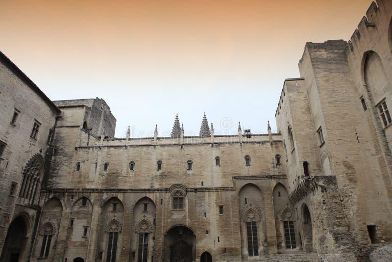 DES Papes, Avignon, Provence, France de Palais photo libre de droits