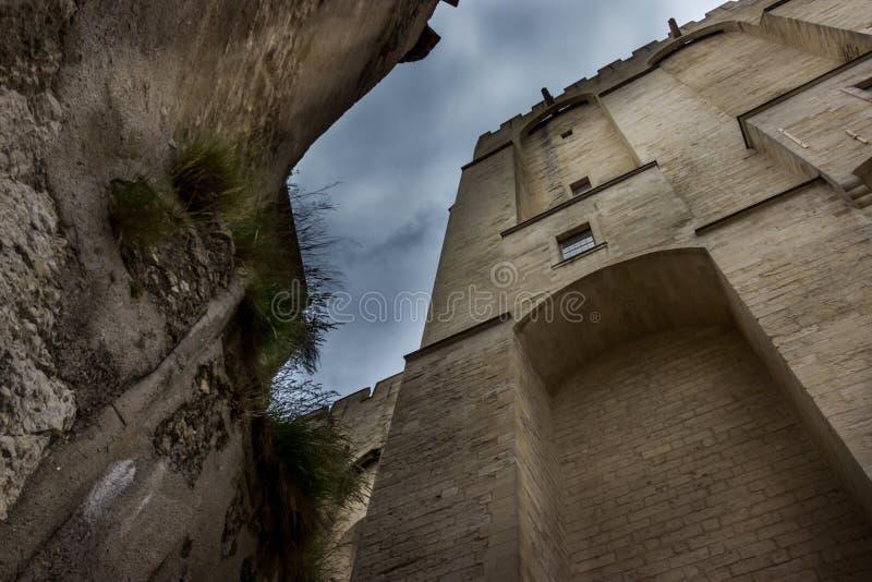 DES Papes de Avignon Palais fotos de stock royalty free
