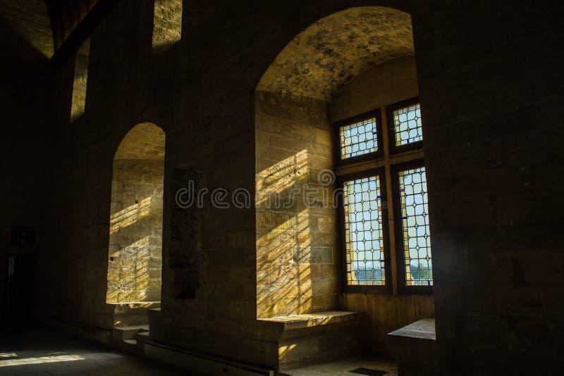 DES Papes de Palais à Avignon photo libre de droits