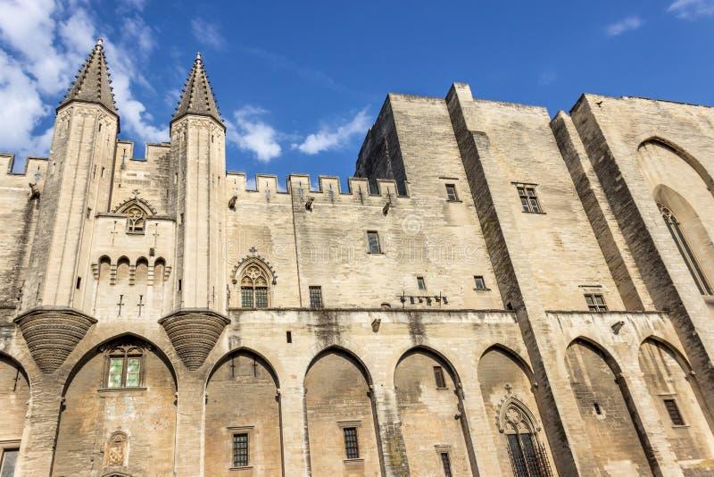 DES Papes de Palais, Avignon França foto de stock