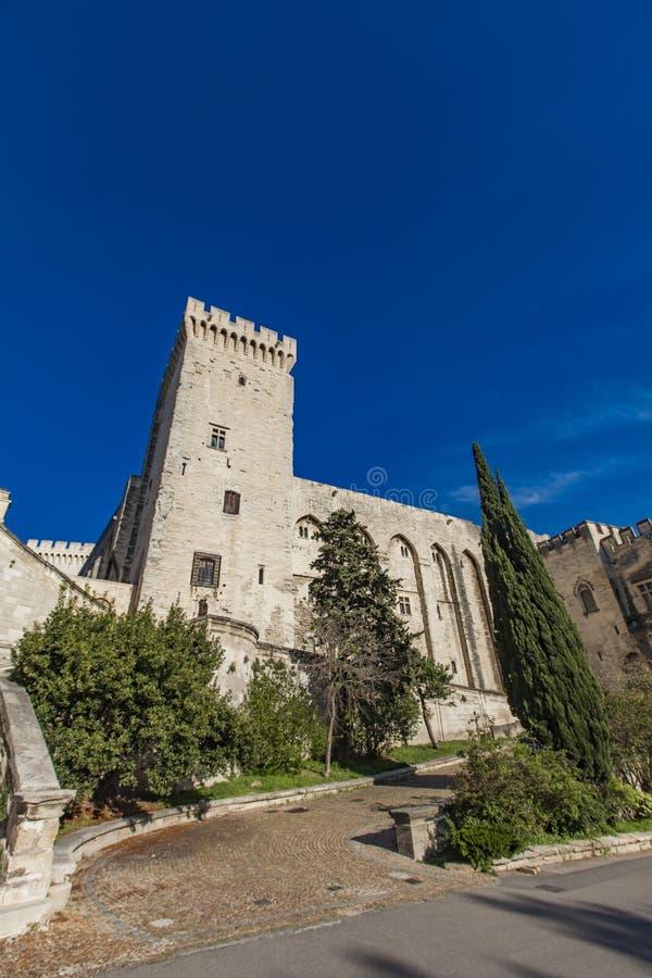 DES Papes de Palais ? Avignon, France photos stock