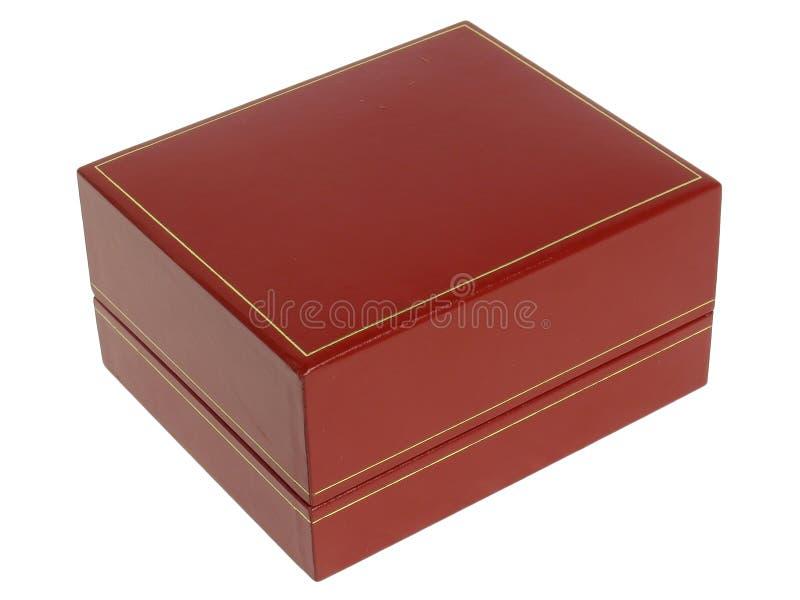 Des Rotes Kasten jewely stockbild