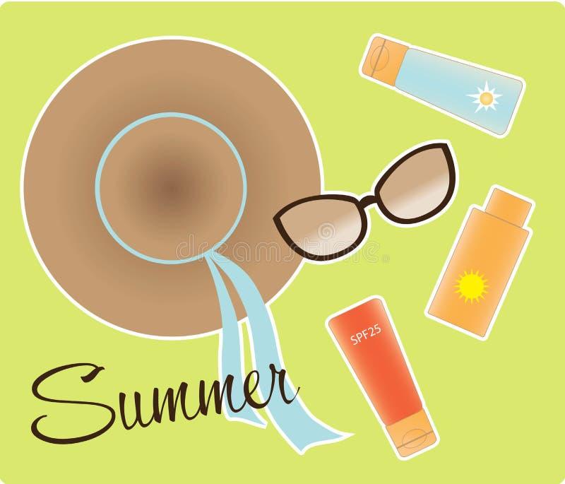 Des Sommers Leben noch lizenzfreie abbildung