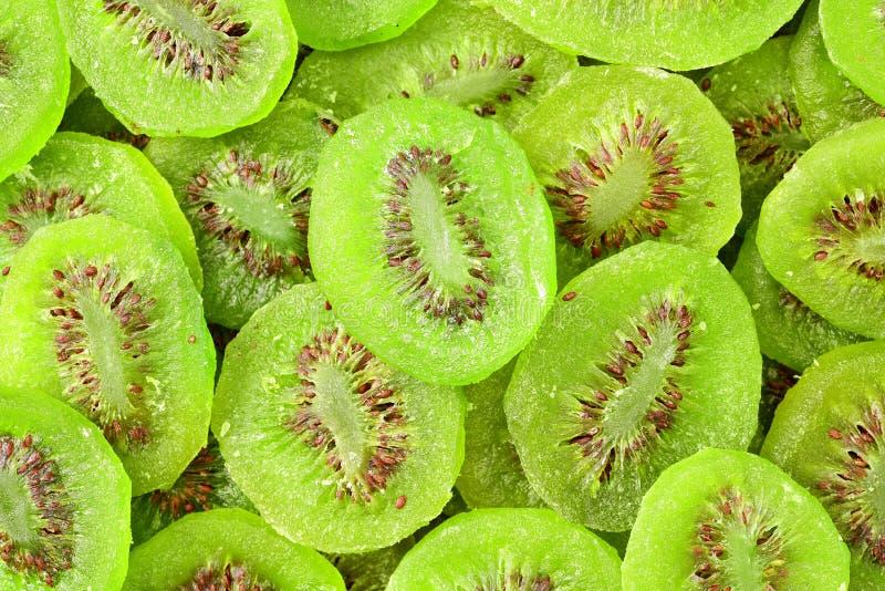 Des tranches de Kiwi Fruit sec, image ont été tirées de la formation ci-dessus photo libre de droits