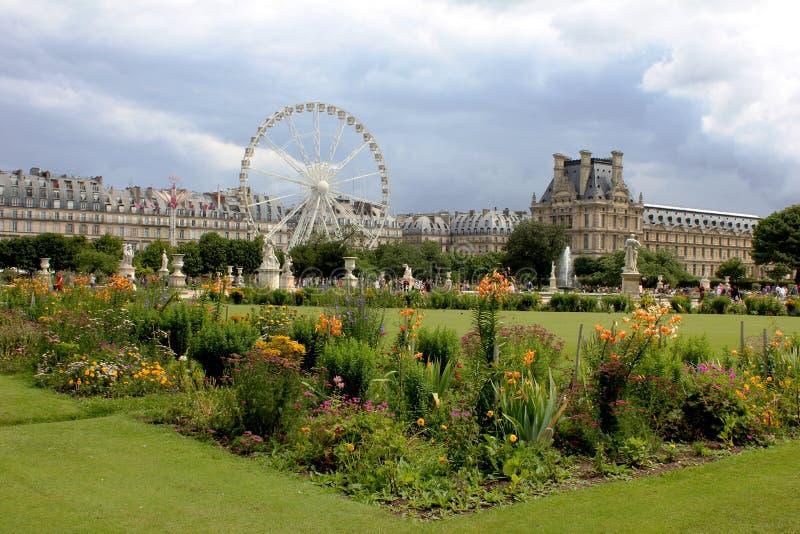 DES Tuileries de Jardin fotografia de stock