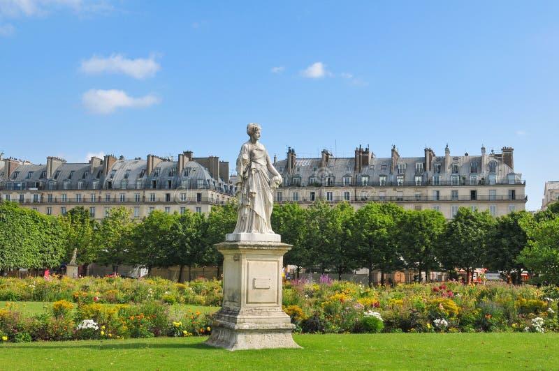DES Tuileries de Les Jardins foto de archivo