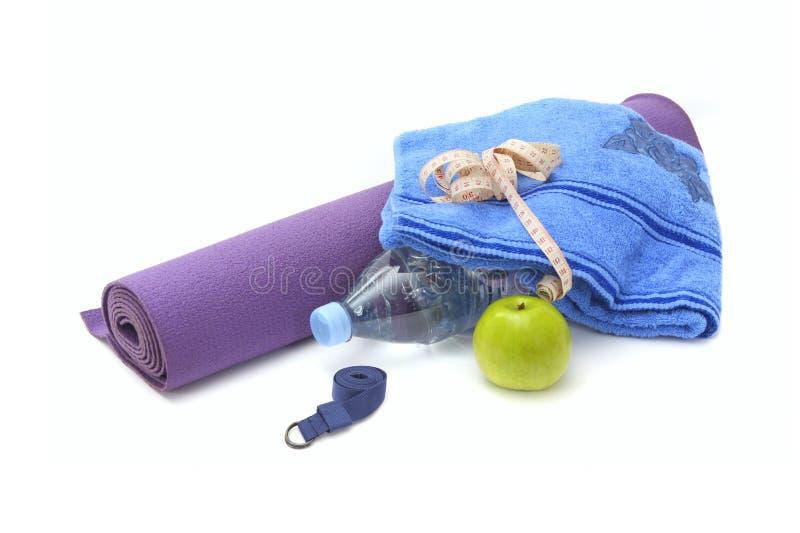 Des Yoga Leben noch lizenzfreies stockbild