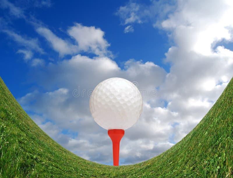 Desafío Golfing fotografía de archivo libre de regalías