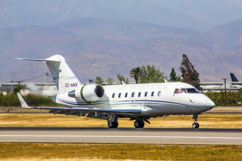 Desafiador de Canadair 605 fotos de stock royalty free