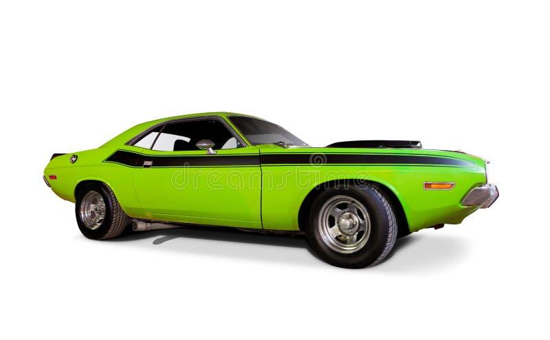 Desafiador 1970 de Dodge. fotografia de stock