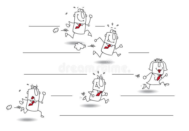 desafio ilustração do vetor