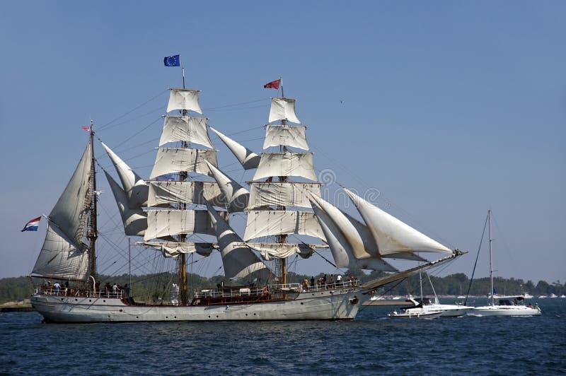 Desafio alto 2010 dos navios - Europa imagem de stock royalty free