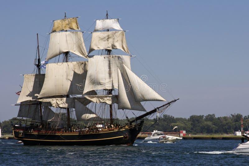 Desafio alto 2010 dos navios - recompensa do HMS foto de stock