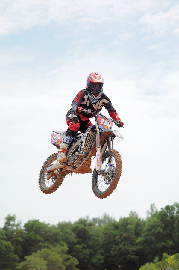 Desafio internacional do motocross de Kemaman | Terengganu | Malásia fotografia de stock royalty free