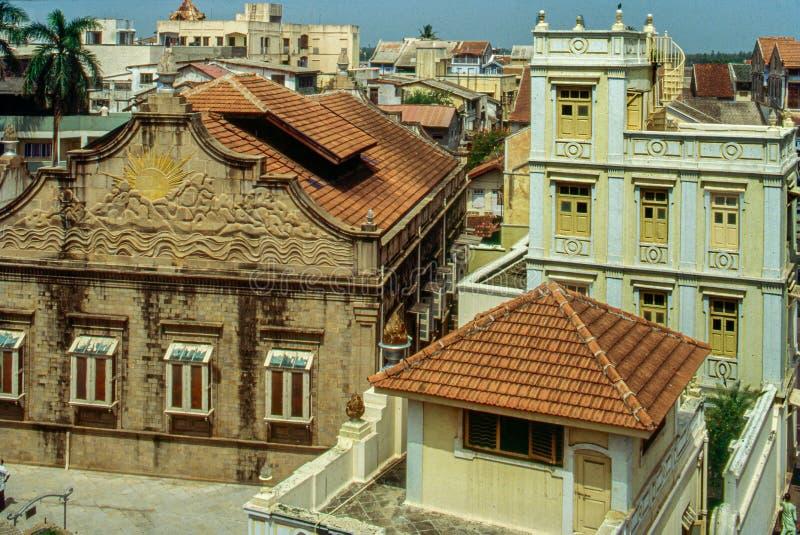 Desai/Bhagarsath Atash Bahram, Tarota Bazar, Navsari, Gujarat imágenes de archivo libres de regalías