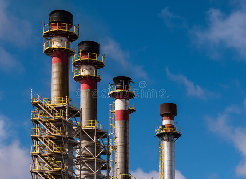 Desalination Plant stock photography