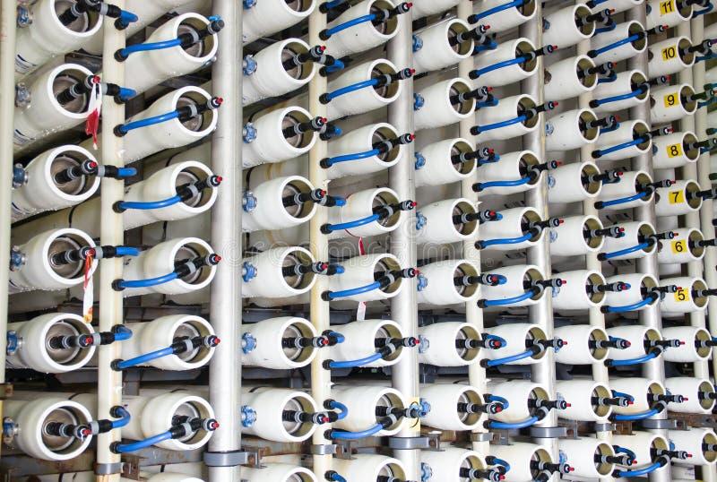 Desalinizadora del agua foto de archivo libre de regalías