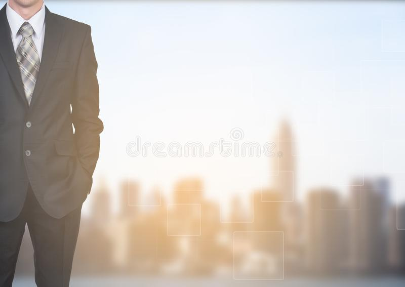 Desarrollo de negocios al éxito y al concepto cada vez mayor del crecimiento fotografía de archivo libre de regalías