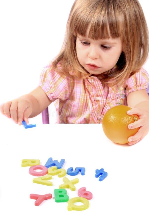 Desarrollo de niñez temprana imágenes de archivo libres de regalías