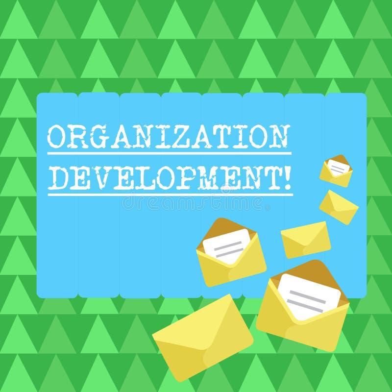 Desarrollo de organización del texto de la escritura La técnica del significado del concepto para traer a cambio la compañía ente libre illustration