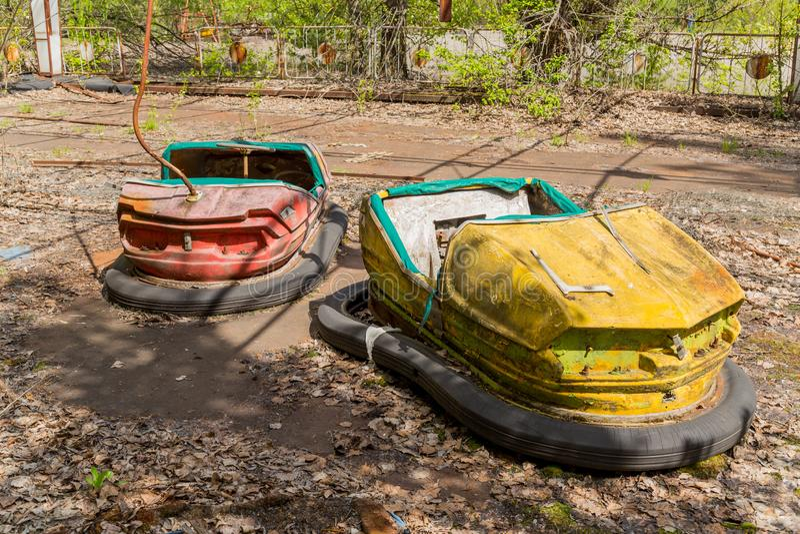 Desastre de Chernóbil, Ucrania fotos de archivo libres de regalías