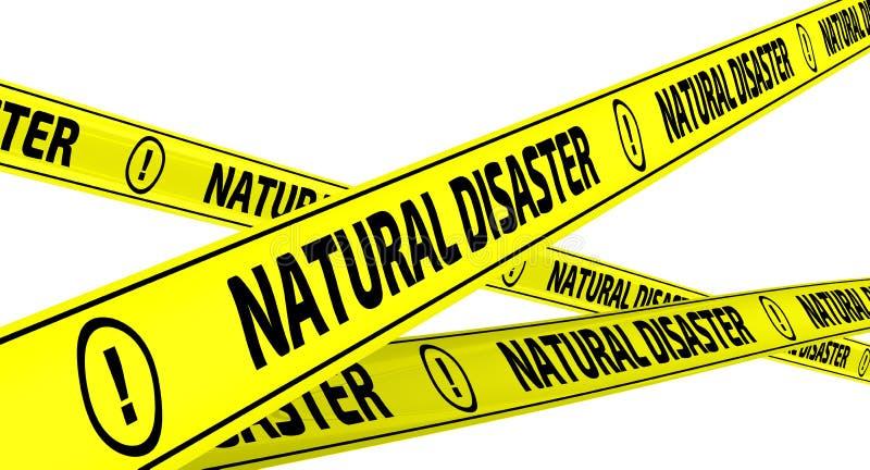 Download Desastre Natural Cintas Amonestadoras Amarillas Stock de ilustración - Ilustración de blanco, inscripción: 100534594