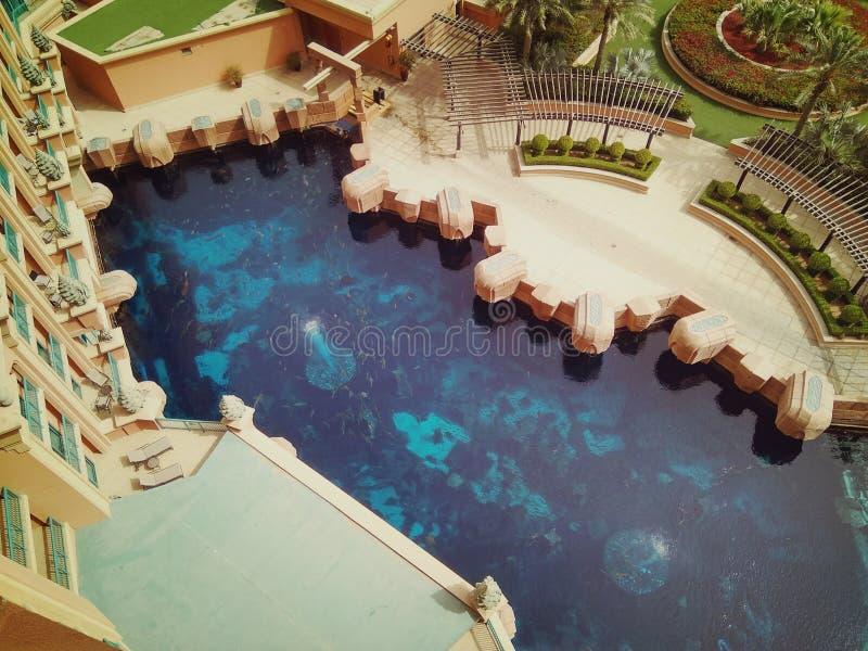 Desatención en el hotel de la Atlántida en la isla de palma imagen de archivo