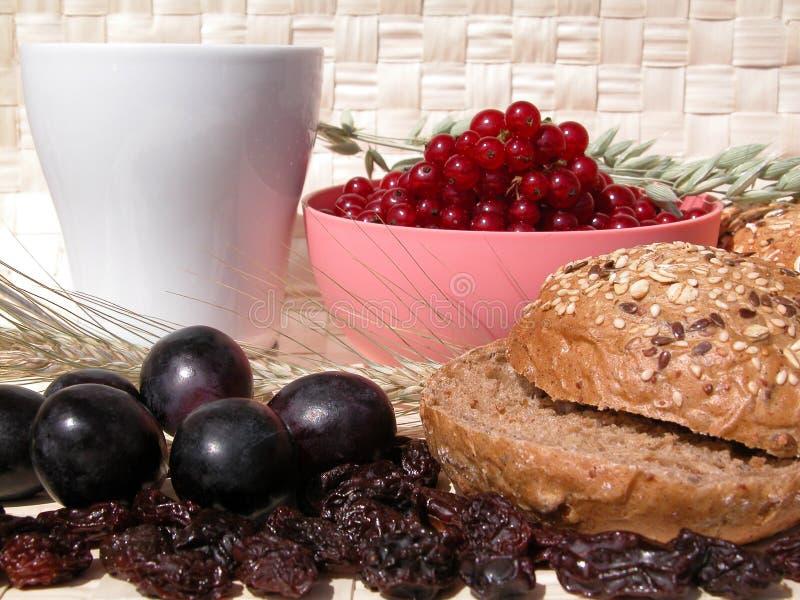 Download Desayuno imagen de archivo. Imagen de uvas, elevenses, nutrición - 189569