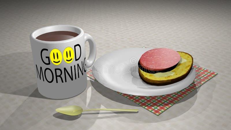 Desayuno fotografía de archivo
