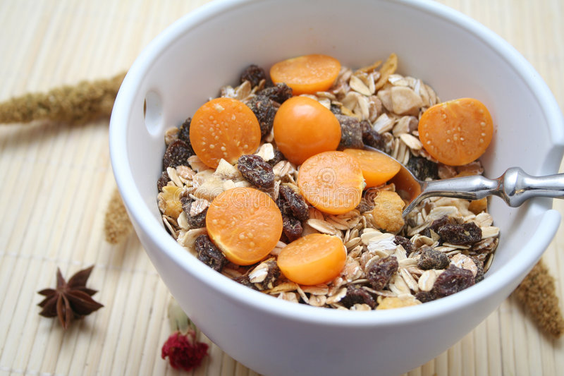 Download Desayuno imagen de archivo. Imagen de cereales, frescura - 7150929