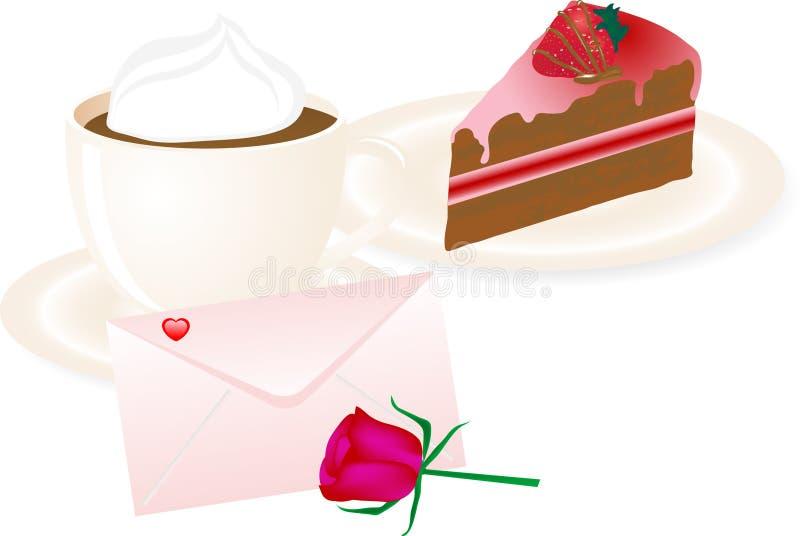 Download Desayuno ilustración del vector. Ilustración de flora - 7276802