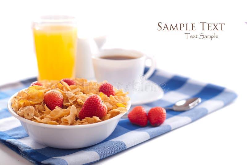 Desayuno aislado stock de ilustración