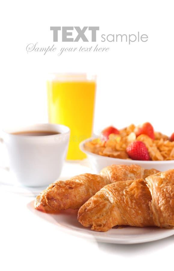Desayuno aislado libre illustration