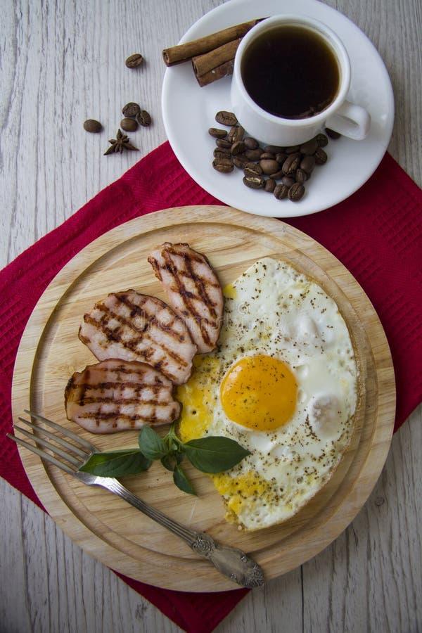 Desayuno clásico foto de archivo