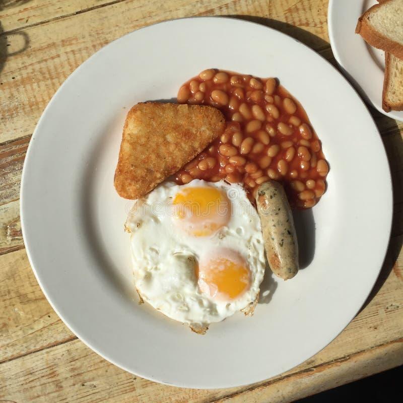 Desayuno clásico imagen de archivo