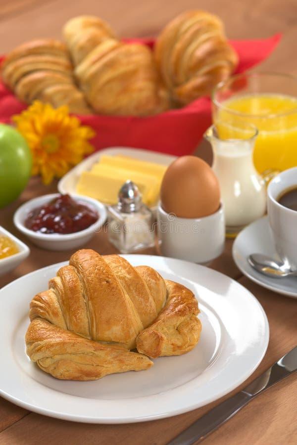 Desayuno continental delicioso imagen de archivo