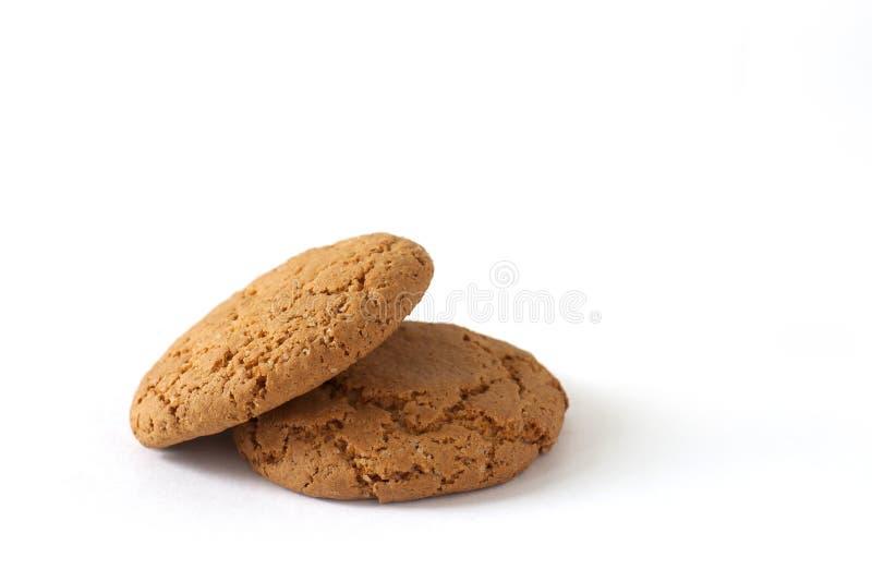 Desayuno de algunas galletas imagen de archivo