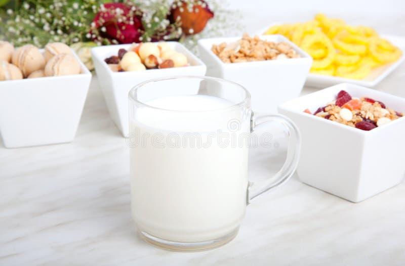 Desayuno de la comida sana imagen de archivo libre de regalías