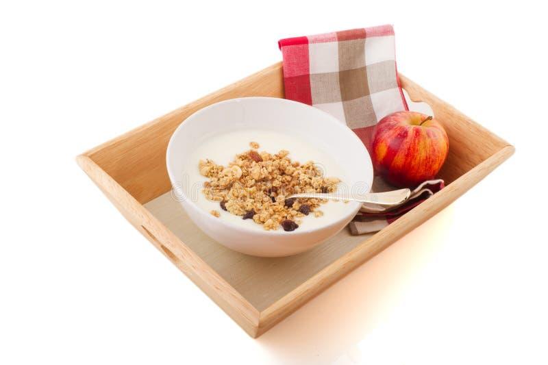 Desayuno de la dieta fotografía de archivo libre de regalías