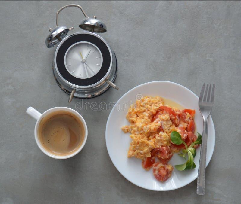 Desayuno de la mañana fotografía de archivo libre de regalías