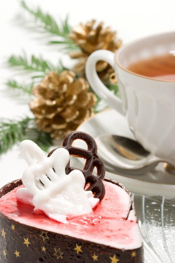 Desayuno de la Navidad foto de archivo libre de regalías